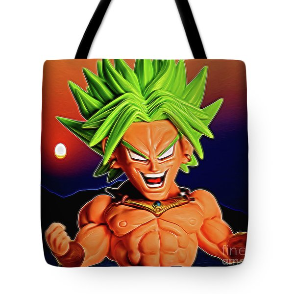Sunset Ss Broly Tote Bag