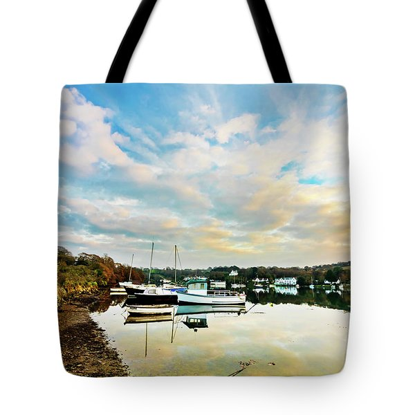 Winter Sunset Tote Bag by Terri Waters
