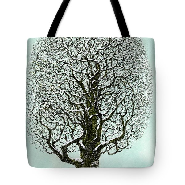 Winter Tree 2009 Tote Bag by Charles Cater