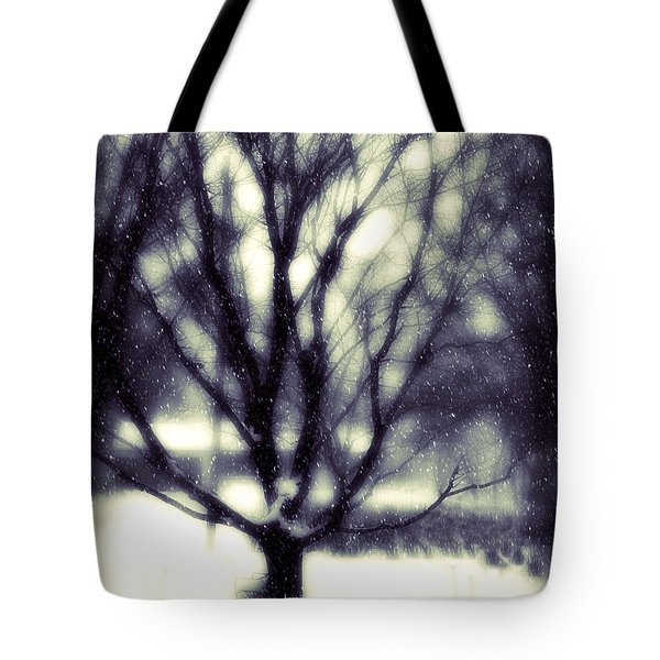 Winter Tree 3 Tote Bag by Perry Webster