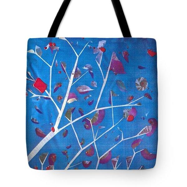 Winter Tree Tote Bag by Rick Silas