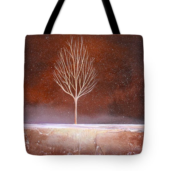 Winter Tree Tote Bag by Toni Grote