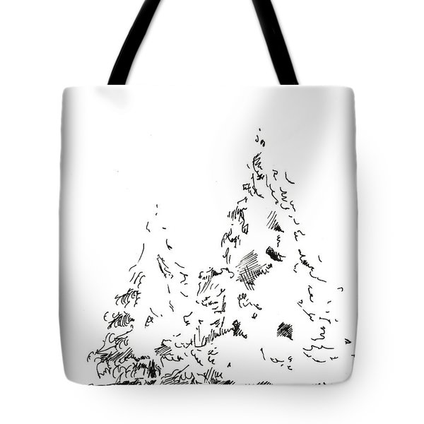 Winter Trees 1 - 2016 Tote Bag