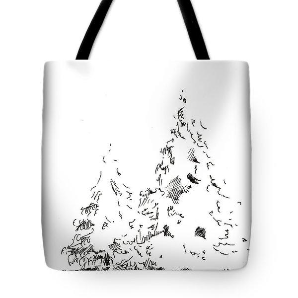 Winter Trees 1 - 2016 Tote Bag