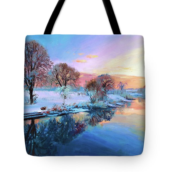 Winter Trees Tote Bag by Conor McGuire