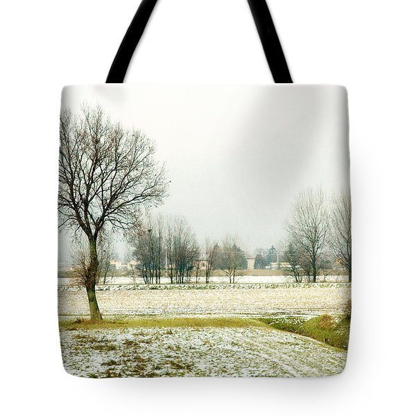 Winter Trees Tote Bag by Silvia Ganora