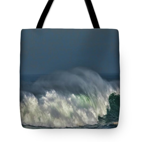 Winter Waves And Veil Tote Bag