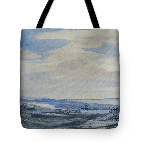 Winter Wilds Tote Bag