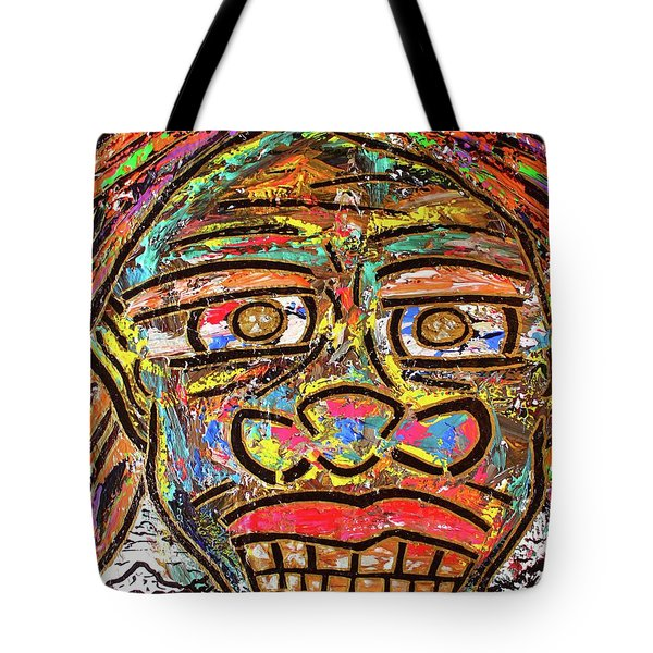 Winter Wonderland Man Tote Bag