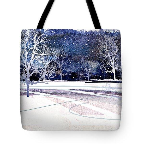 Winter Wonderland Tote Bag by Paul Sachtleben