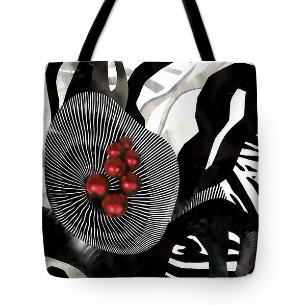 Winterberries Tote Bag by Sarah Loft