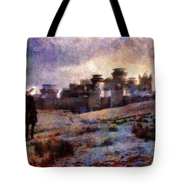 Winterfell Tote Bag by Lilia D