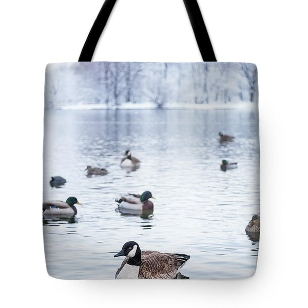 Winterlong Tote Bag