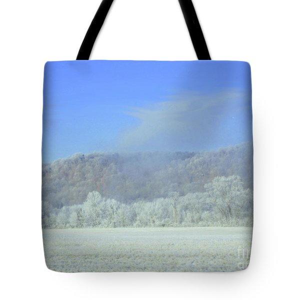 Winter's An Etching... Tote Bag