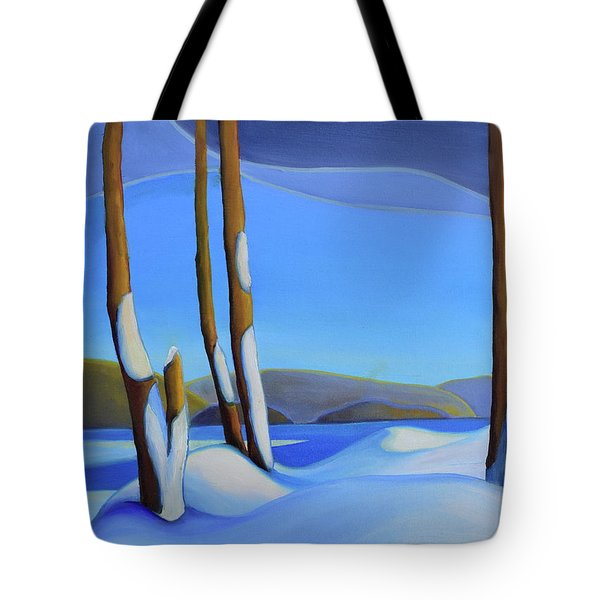 Winter's Calm Tote Bag