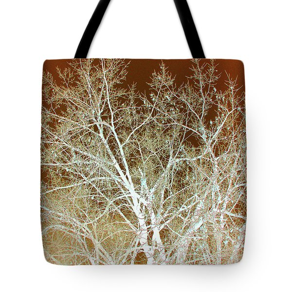Winter's Dance Tote Bag