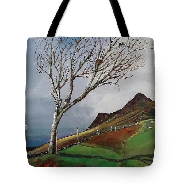 Winter's Day At Yewbarrow -painting Tote Bag