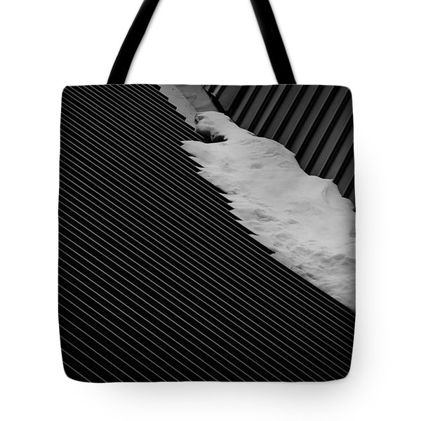 Tote Bag featuring the photograph Winters End by Tim Nichols