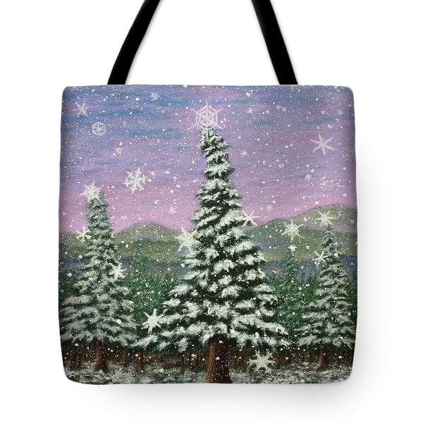 Winter's Eve 01 Tote Bag