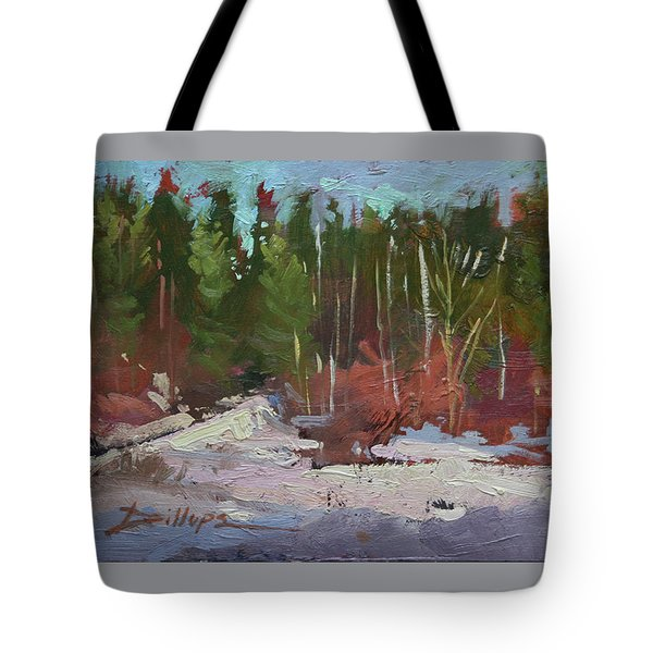 Winter's Eve Tote Bag