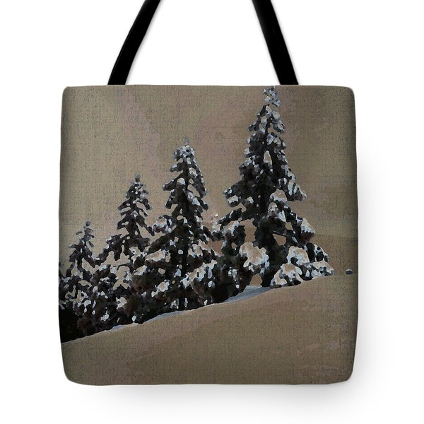Winters Eve Tote Bag