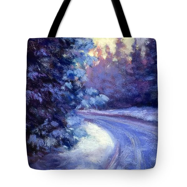 Winter's Exodus Tote Bag