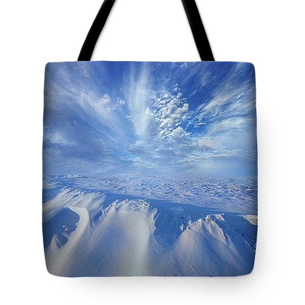 Tote Bag featuring the photograph Winter's Hue by Phil Koch