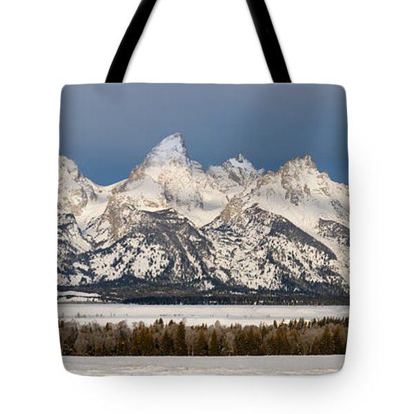 Winter's Majesty Tote Bag