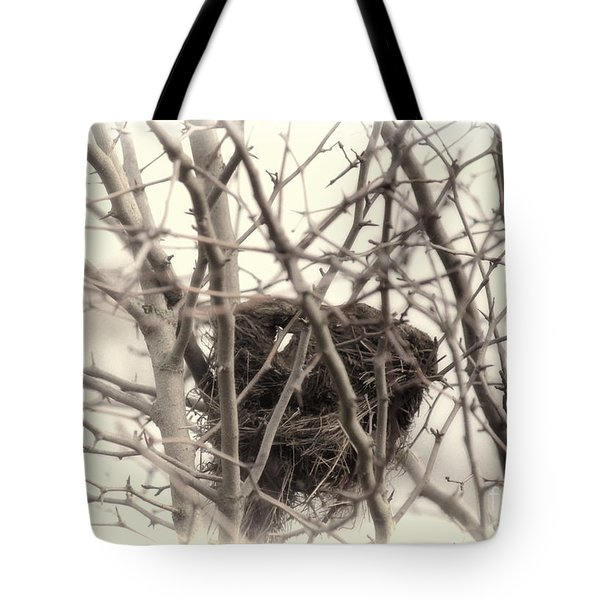 Winter's Nest Tote Bag