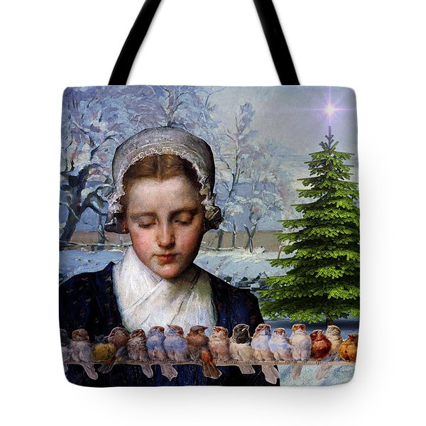 Winters Past Tote Bag