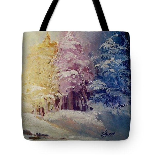 Winter's Pride Tote Bag