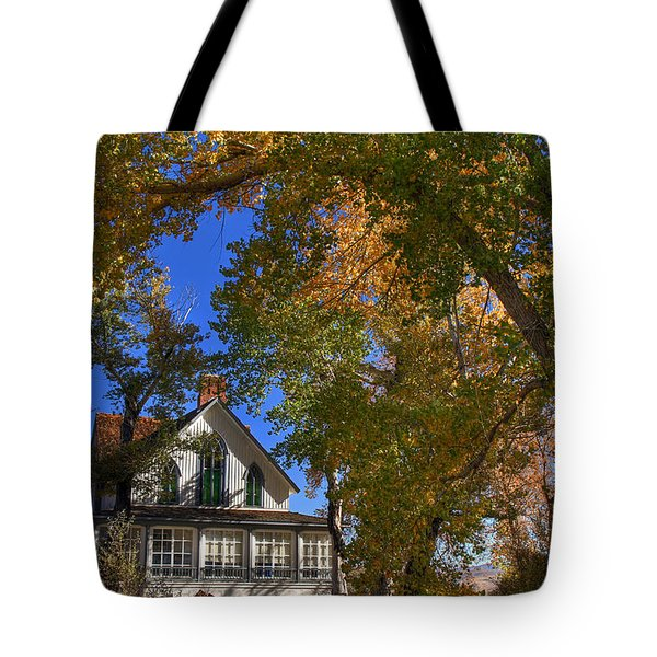 Winters Ranch Tote Bag by Donna Kennedy