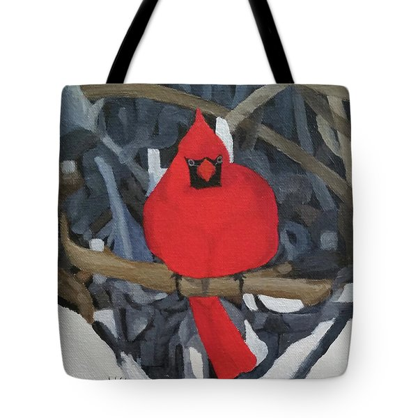 Winters Refuge Tote Bag by Wendy Shoults