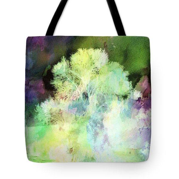 Winters Storm Tote Bag