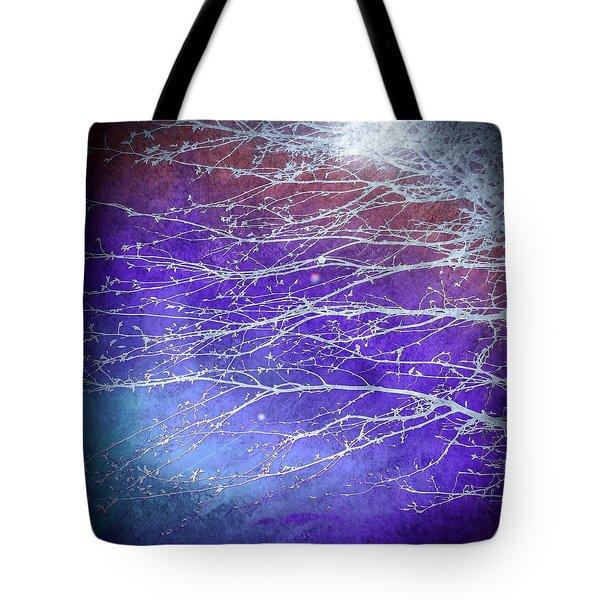 Winter's Twilight Tote Bag