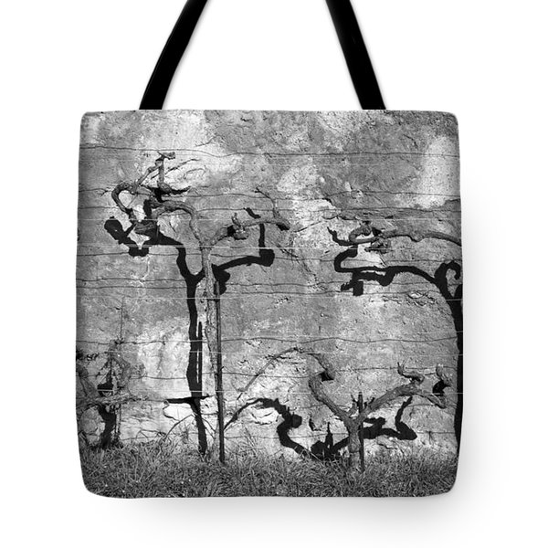 Winter's Vines Tote Bag by Colleen Williams