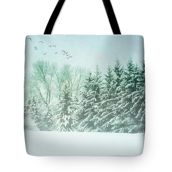 Winter's Watch Tote Bag