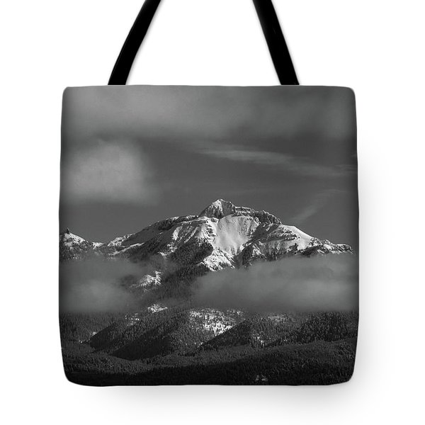 Winter's Window Tote Bag