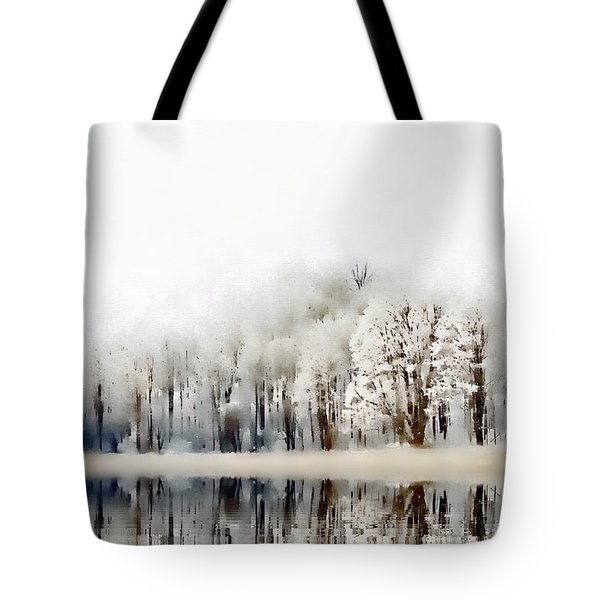 Winterscape  Tote Bag by Andrea Kollo