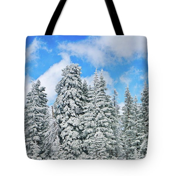 Winterscape Tote Bag by Jeff Kolker