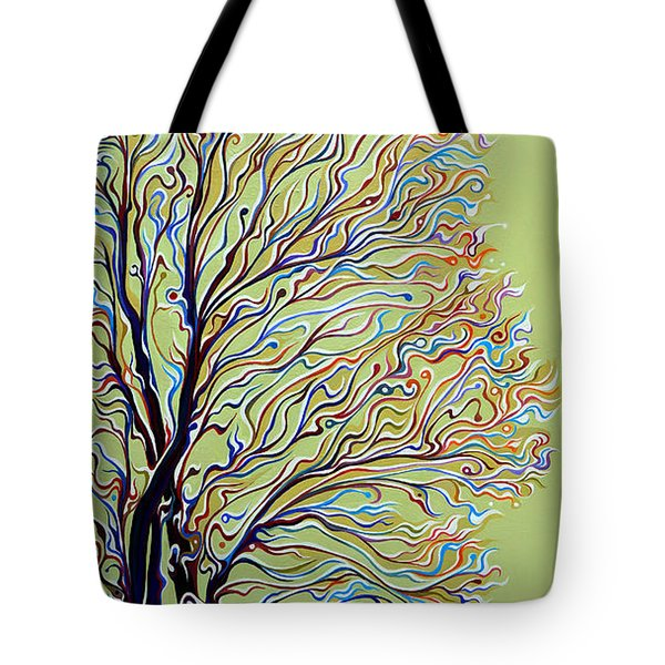 Wintertainment Tree Tote Bag