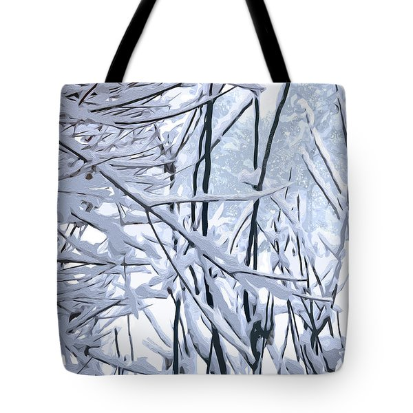 Wintertide Tote Bag