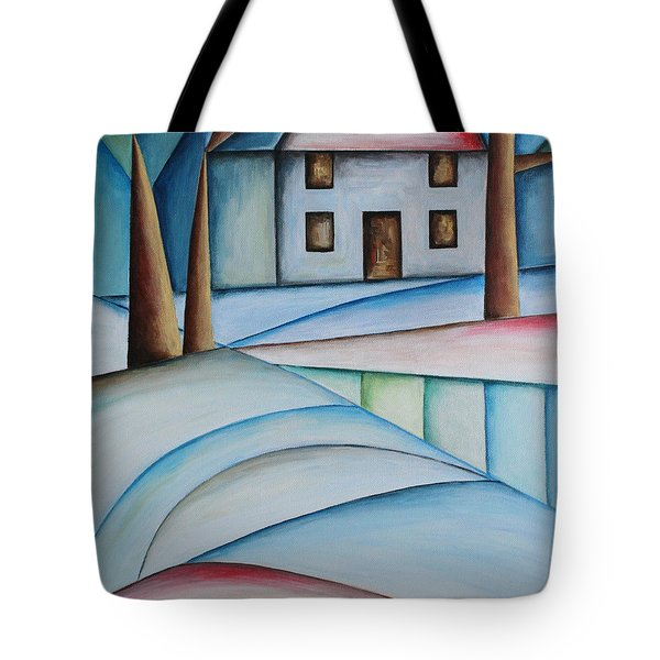 Wintertime Tote Bag by Jutta Maria Pusl