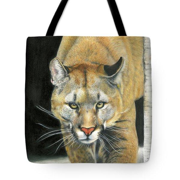 Wintertime Prowler Tote Bag