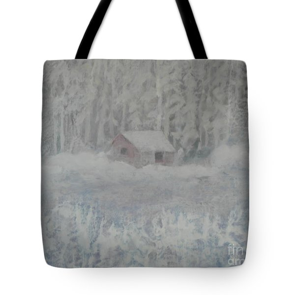 Wintery Woodland Tote Bag