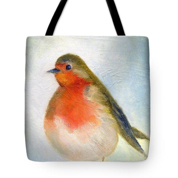 Wintry Tote Bag by Nancy Moniz