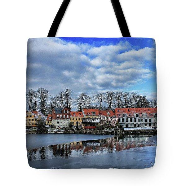 Wintry Nyborg Tote Bag