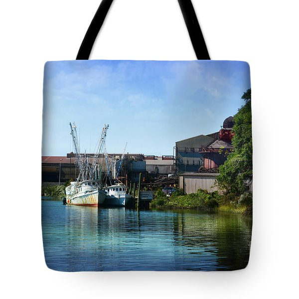 Winyah Bay Georgetown Sc Tote Bag
