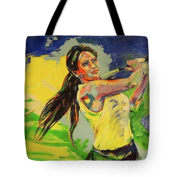 Wird Es Das Grun Erreichen  Will It Reach The Green Tote Bag by Koro Arandia