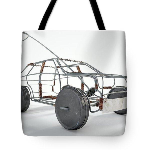 Wire Car Tote Bag